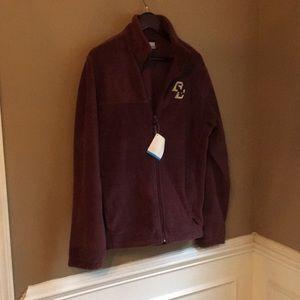 NWT Women's BC full zip fleece jacket med maroon